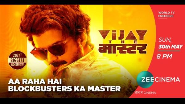 Vijay The Master: World Television Premiere Of Vijay's Action-Entertainer On Zee Cinema!