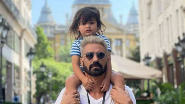 Arjun Rampal Takes A Trip To Budapest With Gabriella & Son