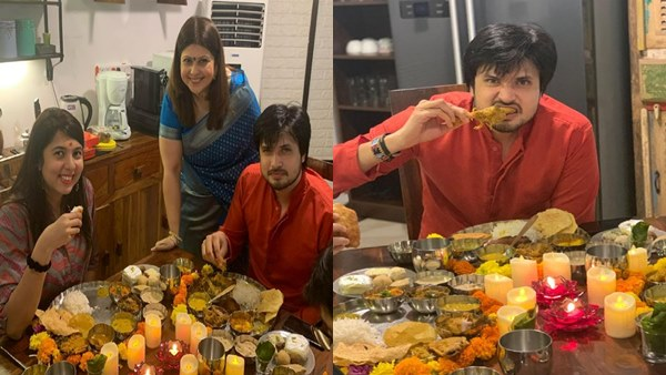 Chirag Patil Gets A Special Treat From His Mother-In-Law On Jamai Sasthi Ceremony