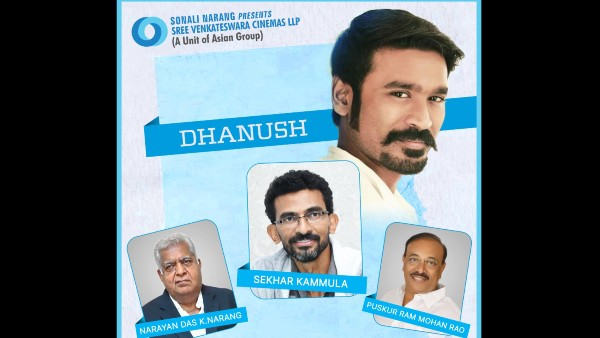 Dhanush To Team Up With Sekhar Kammula For A Trilingual Film