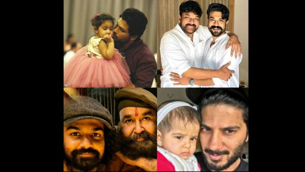 Father's Day 2021: When South Actors Shared Adorable Pics With Their Kids On Social Media!