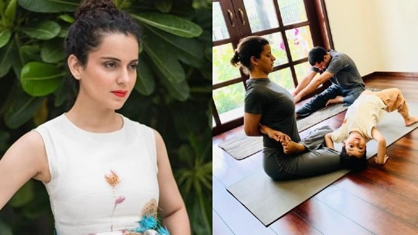 Kangana Ranaut Recalls How Her Sister Rangoli Chandel Overcame Trauma Of Acid Attack With Yoga