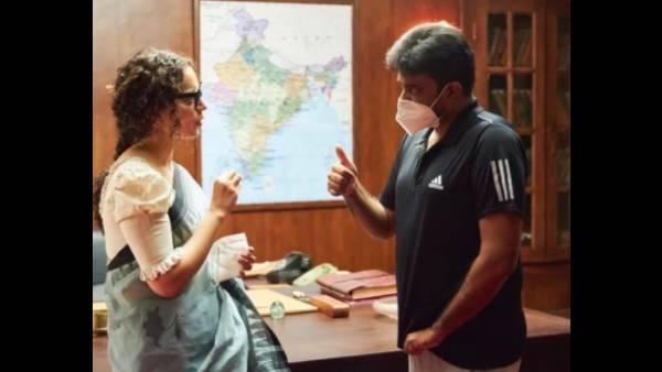 Kangana Ranaut Wishes Her Thalaivi Director On His Birthday