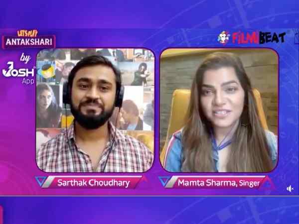 Exclusive: Mamta Sharma On Let's Play Antakshari By Josh