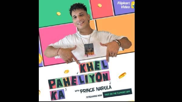 King Of Reality TV Prince Narula To Host Flipkart Video's Khel Paheliyon Ka