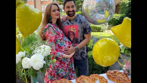 Rannvijay Singha's Wife Prianka's Friends Throw Her A Surprise Baby Shower