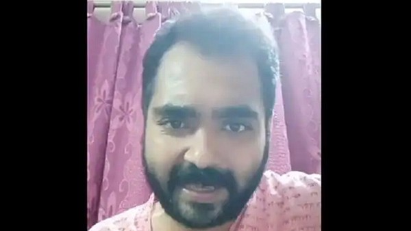 Bengali TV actor Suvo Chakraborty tries to commit suicide in his live Facebook video;  The police come to rescue him