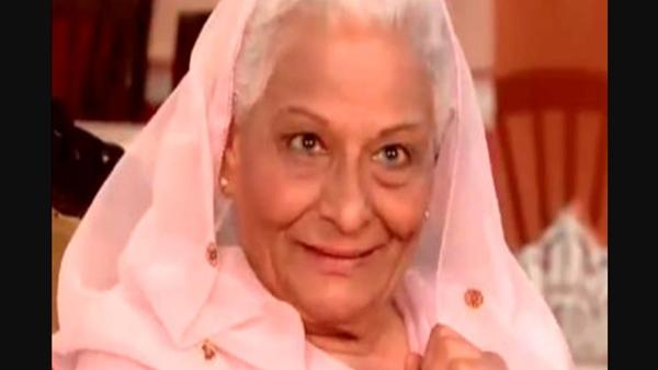 Nia Sharma's Ek Hazaaron Mein Meri Behna Hai star Tarla Joshi passes by;  The actor says 'RIP Badi Beeji'