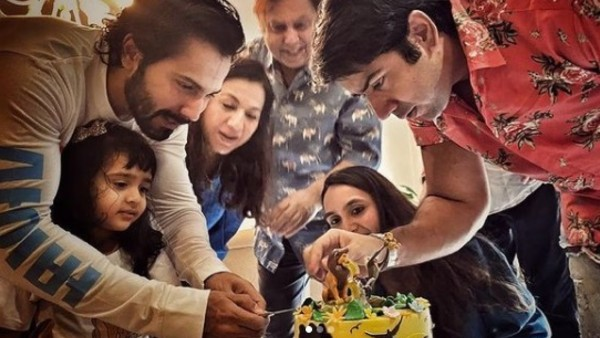Varun Dhawan Celebrates Niece Niyara's Birthday With Family, Their Pictures Are Too Cute To Handle!