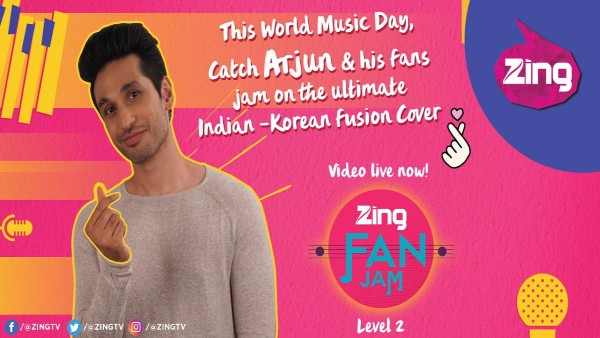 Zing Ropes In Arjun Kanungo For A Special Indian-Korean Music Cover Video For World Music Day