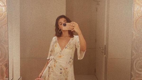 Alia Bhatt Shares Some Stunning Mirror Selfies