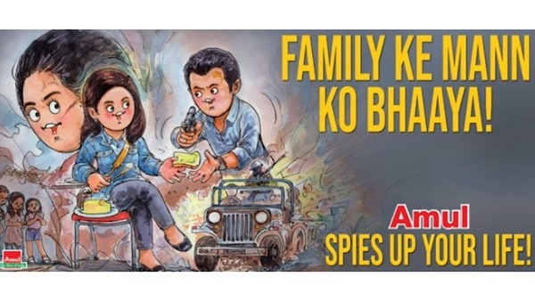 Amul Celebrates The Success Of Manoj Bajpayee's The Family Man 2 With A Quirky Tribute