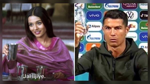 Amrita Rao Has This Epic Reaction After Her 'Jal Lijiye' Meme Goes International With Cristiano Ronaldo