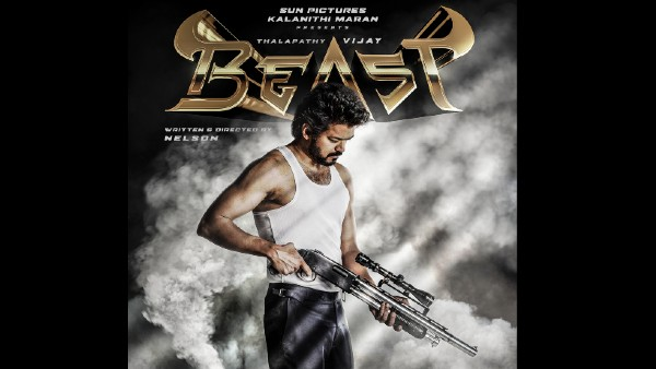 Beast First Look Out; Thalapathy Vijay Looks Deadly In A Brand New Avatar