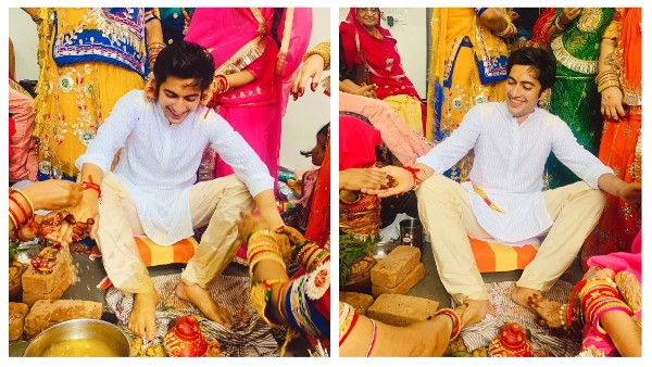 Pandya Store Fame Akshay Kharodia Shares Pictures From His Haldi Ceremony On His Social Media