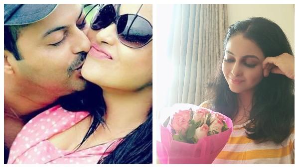 Bhabiji Ghar Par Hai Actress Shubhangi Atre Pens A Sweet Note For Husband Peeyush On Their Wedding Anniversary