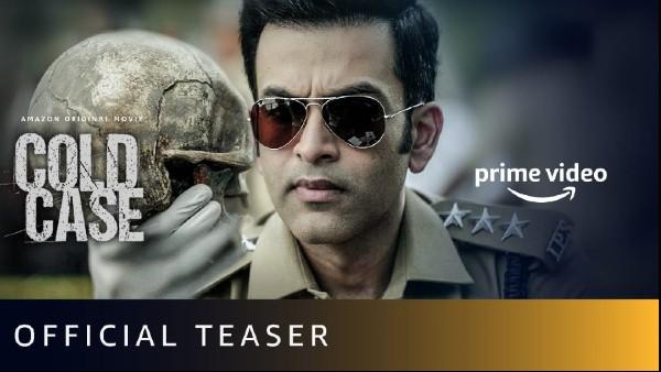 Cold Case Teaser Out: Prithviraj Sukumaran Starrer Promises A Nail Biting Thriller