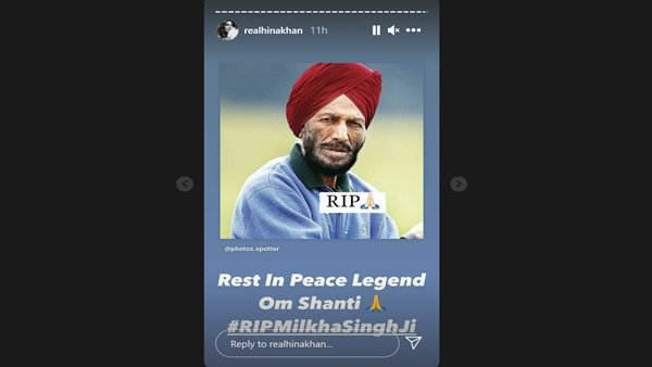 RIP Milkha Singh: Hina Khan To Surbhi Jyoti, TV Celebs Mourn The Flying Sikhs Demise