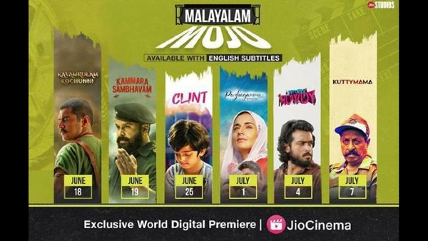 Jio Studios Announces Release & Digital Premiere Of 6 Films