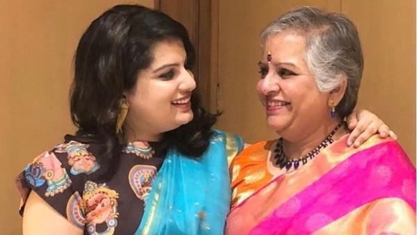 Mallika Dua Bids Final Goodbye To Her Mother