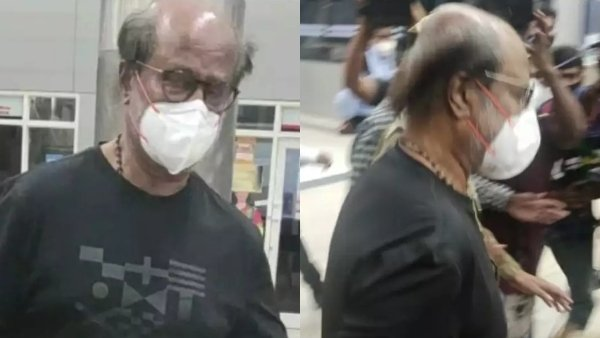 Rajinikanth Flies To The US For Medical Check Up