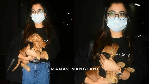 Spotted : Rashmika Mandanna Arrives In Mumbai, To Resume The Shoot Of Goodbye