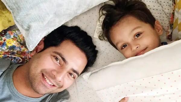 Karan Mehra Has The Sweetest Birthday Wish For Son Kavish