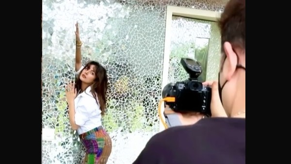 Shehnaaz Gill Fans Can't Keep Calm As She Gets Clicked By Ace Photographer Dabboo Ratnani