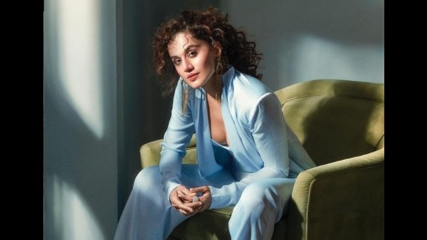 Taapsee On Srijit Stepping In To Direct Shabaash Mithu