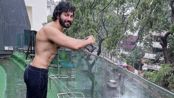 Varun Dhawan Sets The Internet On Fire With Shirtless Pic, Recalls His Childhood Days