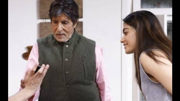 Goodbye: Amitabh Bachchan's Look From The Film Leaked, BTS Pic Also Features Rashmika Mandanna