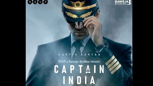 Captain India First Look: Kartik Aaryan Sets Out On An Extraordinary Mission In Hansal Mehta's Next