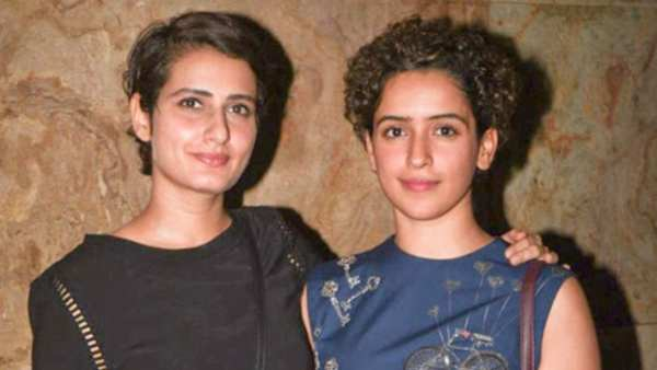 Dangal Sisters Sanya Malhotra And Fatima Sana Shaikh Get Matching Tattoos