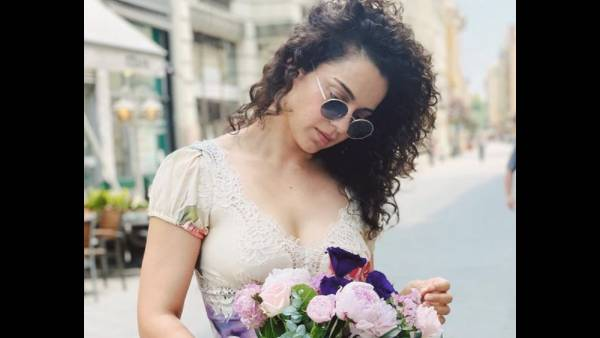 Kangana Ranaut Decides To Play 'Bolly Bimbo', Shares Delightful Pictures In The Process