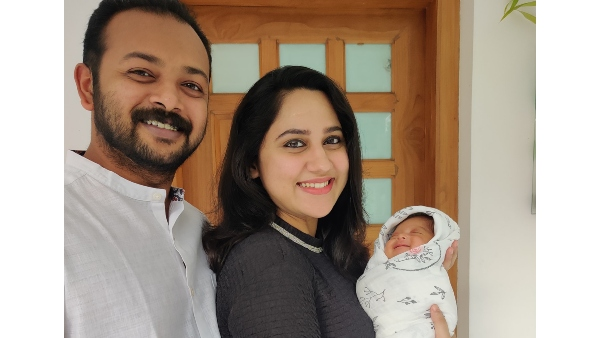 Miya George And Ashwin Philip Blessed With Baby Boy; The Actress Shares An Adorable Picture!