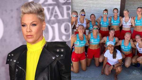 Pink Offers To Pay 'Sexist' Bikini Fine Of Rs 1.3 Lakh For Norwegian Women's Beach Handball Team