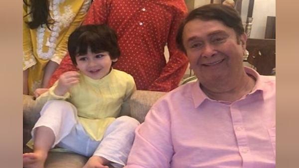 Indian Idol 12: Taimur Sends Hand Made Greeting Card To Grandfather Randhir Kapoor