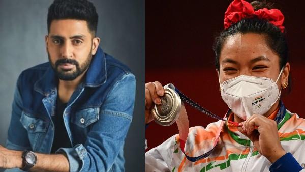 Tokyo Olympics 2020: Abhishek Bachchan, Anil Kapoor & Other Celebs Hail Mirabai Chanu's Silver Medal Win