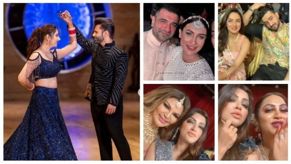 Rahul Vaidya & Disha Parmar's Sangeet Ceremony: DisHul Dance Their Heart Out; JasLy, Arshi & Others Attend