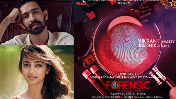 Forensic First Look: Vikrant Massey And Radhika Apte To Star In Hindi Remake Of Tovino Thomas' Malayalam Film