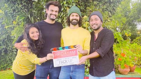 Hridayam: Vineeth And Pranav Wrap Up The Project