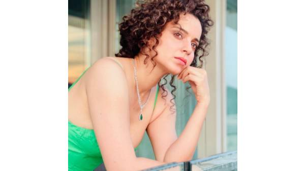 Kangana Ranaut Is A Visual Delight In Green In Her Latest Post, Drops An Urdu Shayari