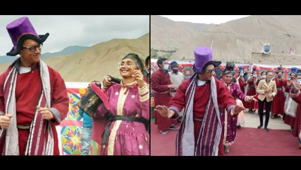 Aamir Khan And Kiran Rao Dance Together On Laal Singh Chaddha Sets In Ladakh Days After Announcing Divorce