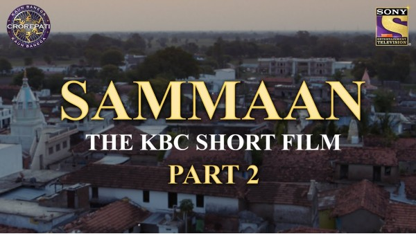 Kaun Banega Crorepati 13: Makers Unveil Second Part Of Nitesh Tiwari's Short Film To Promote The Show
