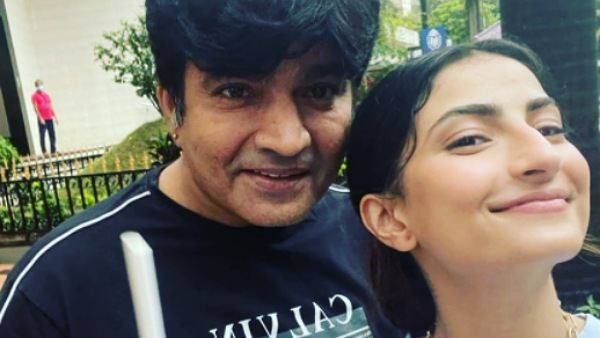 Shweta Tiwari's Ex-Husband Raja Chaudhary Spends Time With His Daughter Palak On His Birthday
