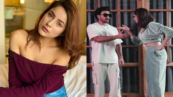Shehnaaz Gill Reviews Ranveer Singh-Deepika Padukone's Video On 'Sadda Kutta' Rap; Says 'Mazaa Aa Gaya'