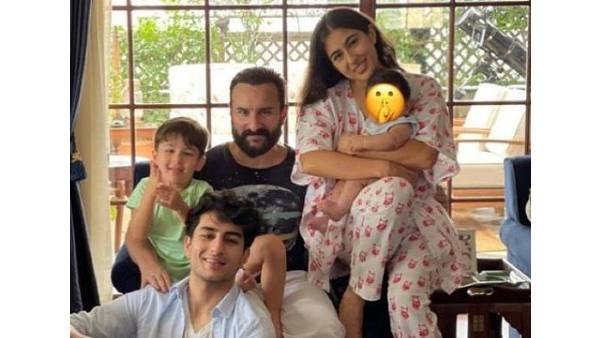 Sara Ali Khan Shares Warm Wishes For Eid, Her Brother Jeh Ali Khan Makes An Appearance