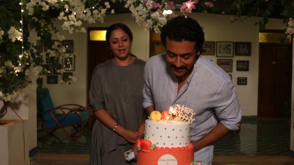 Suriya Celebrates His Birthday With Jyotika And Team Etharkkum Thunindhavan; Pictures Go Viral
