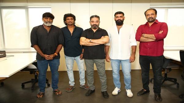 Vikram Shoot Begins! Kamal Haasan, Vijay Sethupathi & Lokesh Kanagaraj's Pictures From The Sets Go Viral