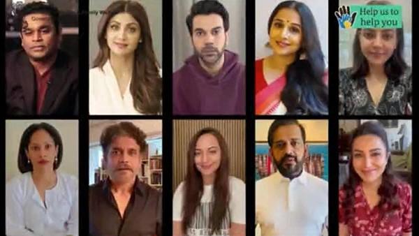 Vidya Balan, Rajkummar Rao, Nagarjuna, AR Rahman & Other Stars Feature In COVID-19 Awareness Video